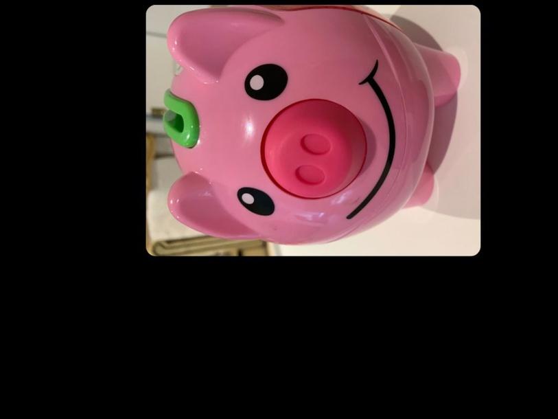 Pink Pig by MaryAnne Roberto