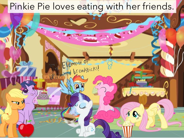 Pinkie Pie And The Sleepover  by M3 taylor