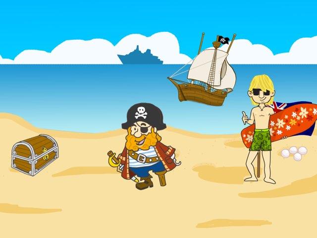 Piratas En La Playa by Lucía  Lara Vilches