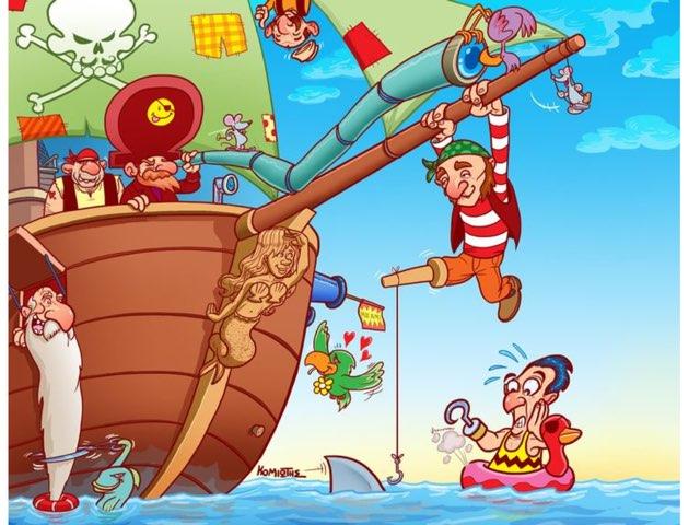 Piraten Puzzels by Lian Esveld