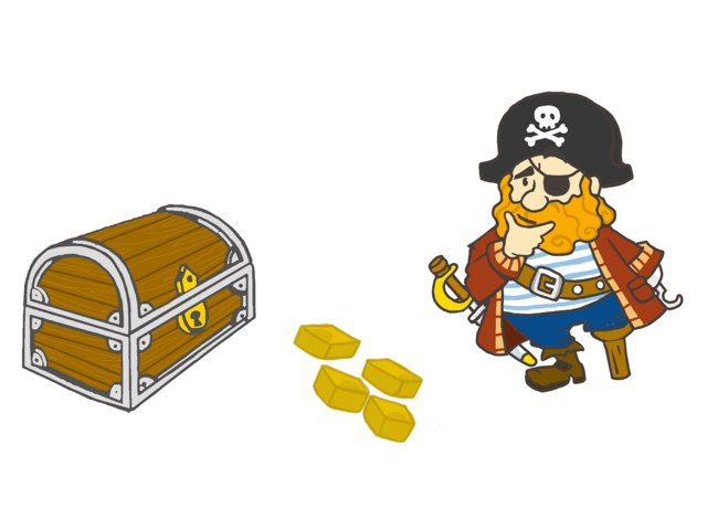 Pirates! (More Or Less) by Shera Saunders
