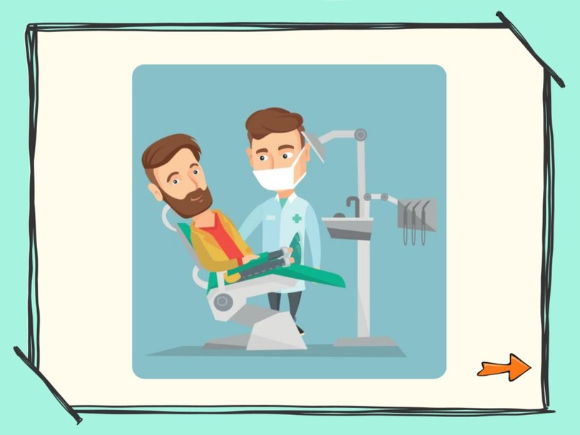 Plaatsbepaling thema tandarts by Maja Baekelandt