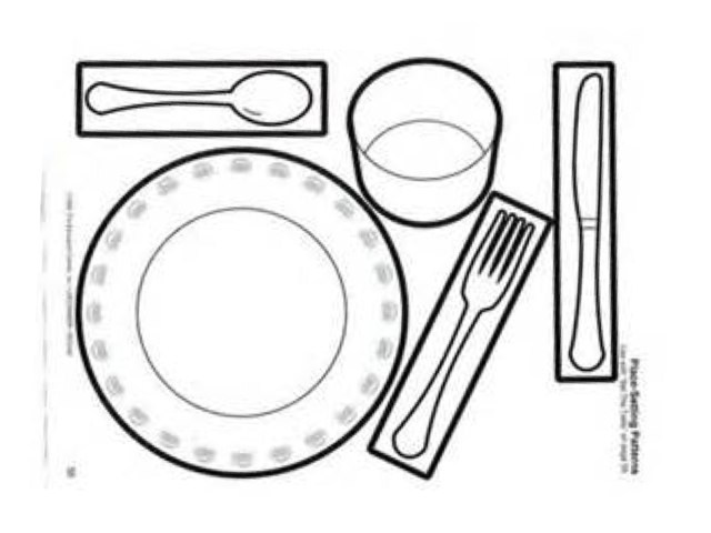Place Setting by Kristin James