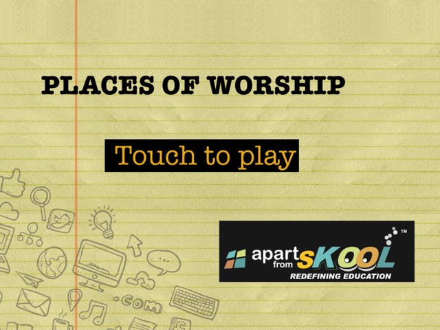 Places Of Worship by TinyTap creator