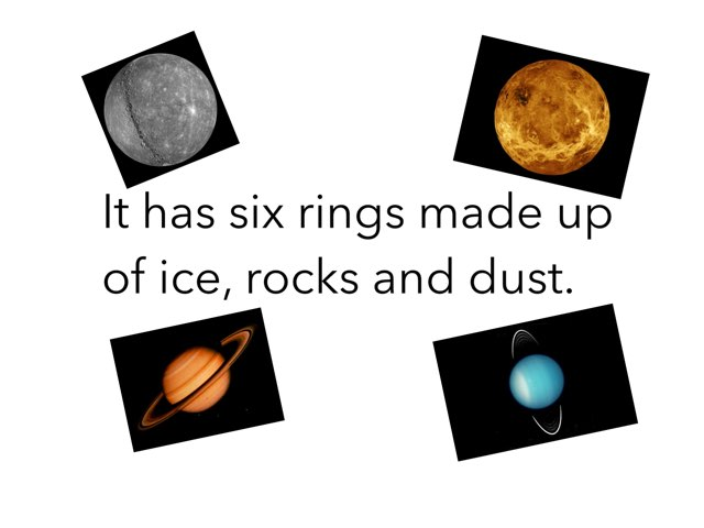 Planet Fact Quiz by Laura  Splawn