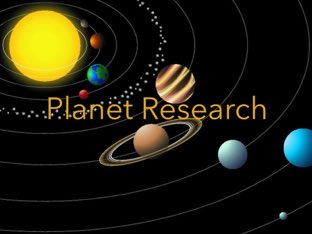 Planet Research by Laura  Splawn