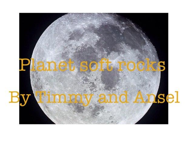 Planet Soft Rock By Ansel & Timmy by Arlene Gregersen