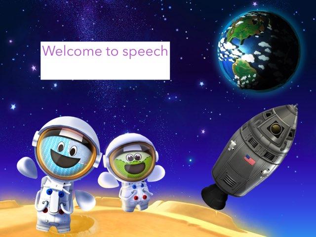 Planet Speech by JoEllen Poindexter
