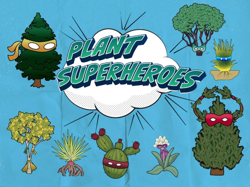 Plant Superheroes by Arizona Project WET