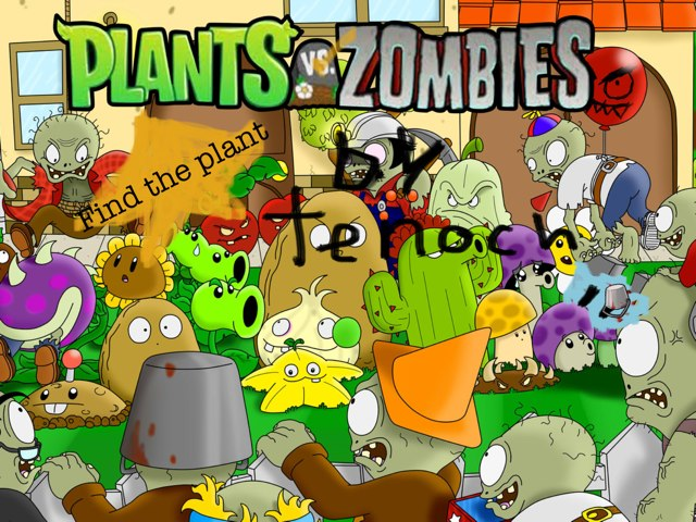 Plants Vs Zombies: Find The Plant.   by Juani Zazueta