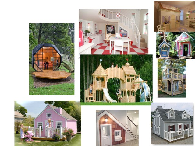 Play Houses by Jessica Watne