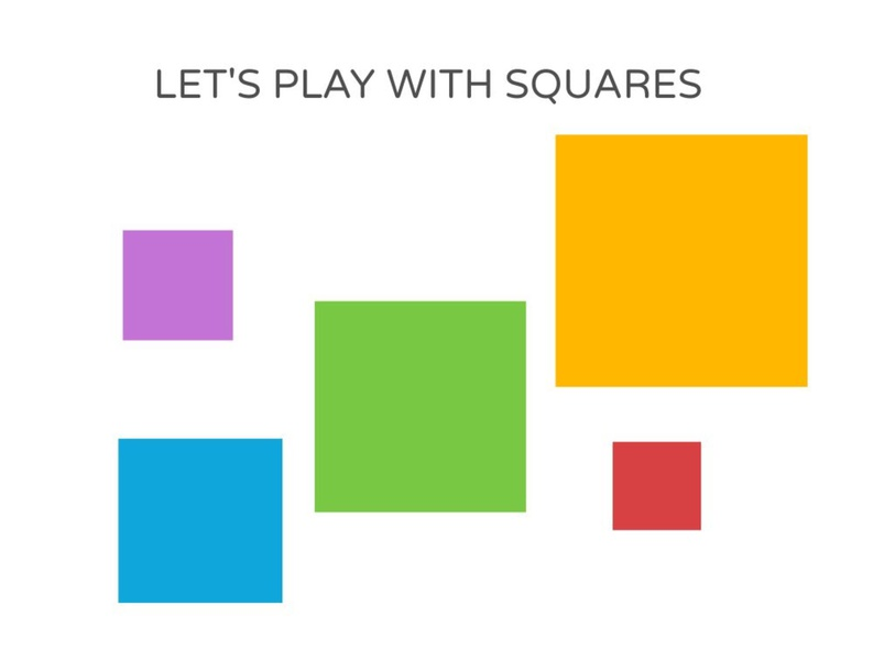 Playing with Squares by andrea.rodriguezvstrinidad.ar