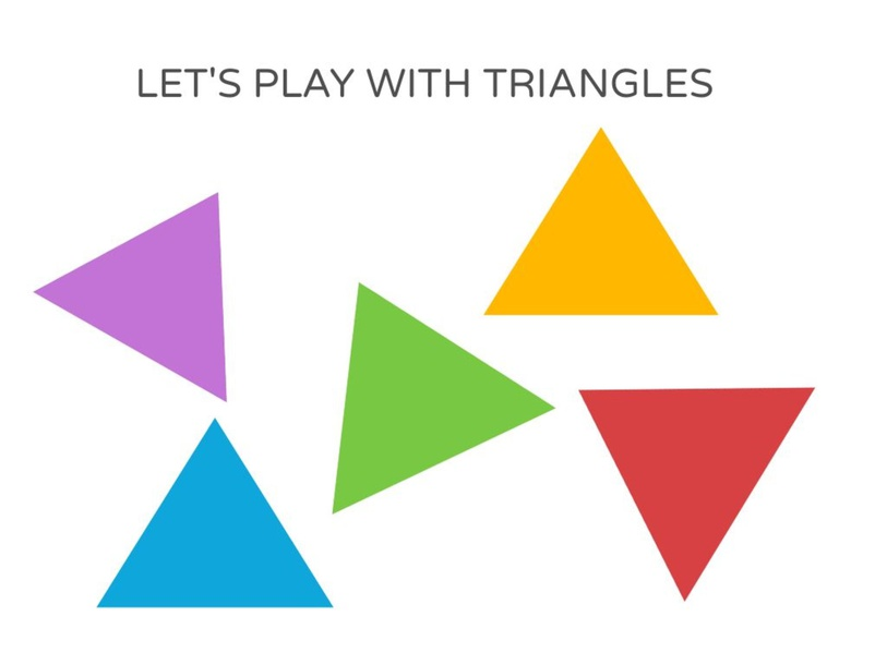 Playing with Triangles by andrea.rodriguezvstrinidad.ar