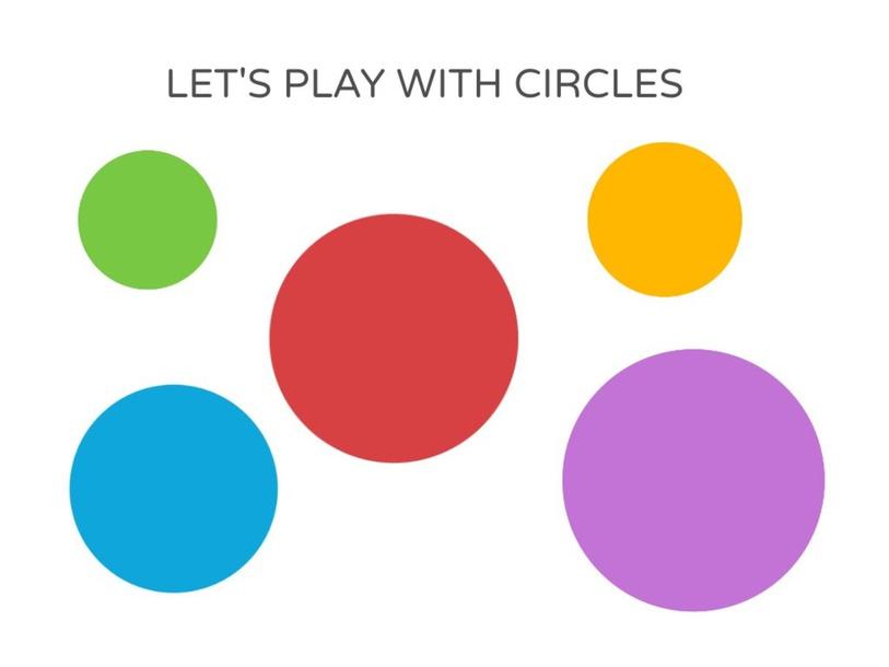 Playing with circles by andrea.rodriguezvstrinidad.ar
