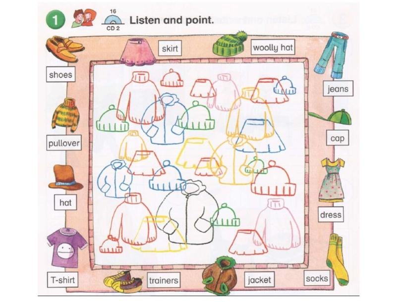 Playway 2 Clothes Vocabulary by Vitaly Kartavykh