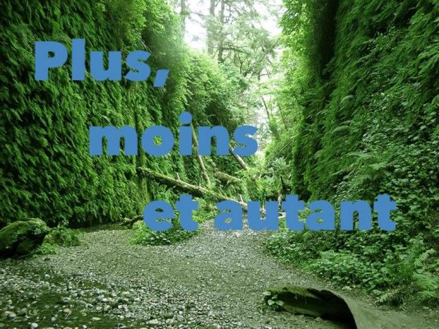 Plus Moins Autant by Alice Turpin