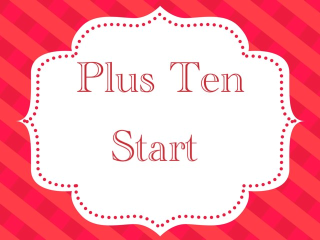 Plus Ten by Ainsley