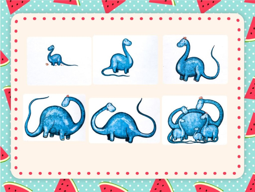 Plus Unit - Cheeky Monkey (baby dino) - puzzle by Play & Learn English School