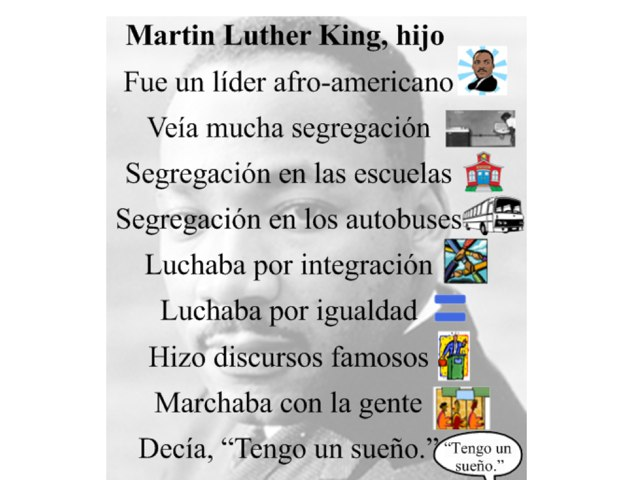 Poema de Martin Luther King, hijo by Allison Shuda