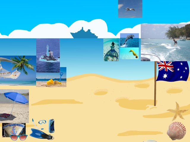 Point At The Beach Objects You Hear by Curso CFTIC