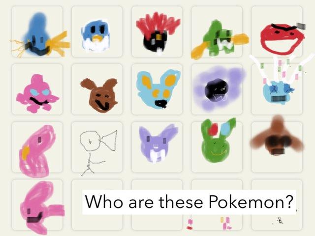 Pokemon Quiz  by Edventure More -  Conrad Guevara