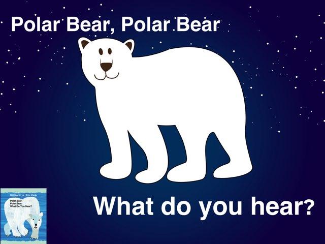 Polar Bear Book Vocabulary by Erica Lynn
