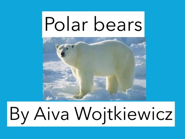 Polar Bears by Annette Louis