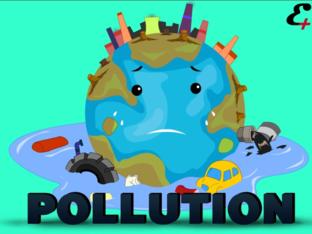 Pollution by Ms. Khadija K by Khadija Alkahali