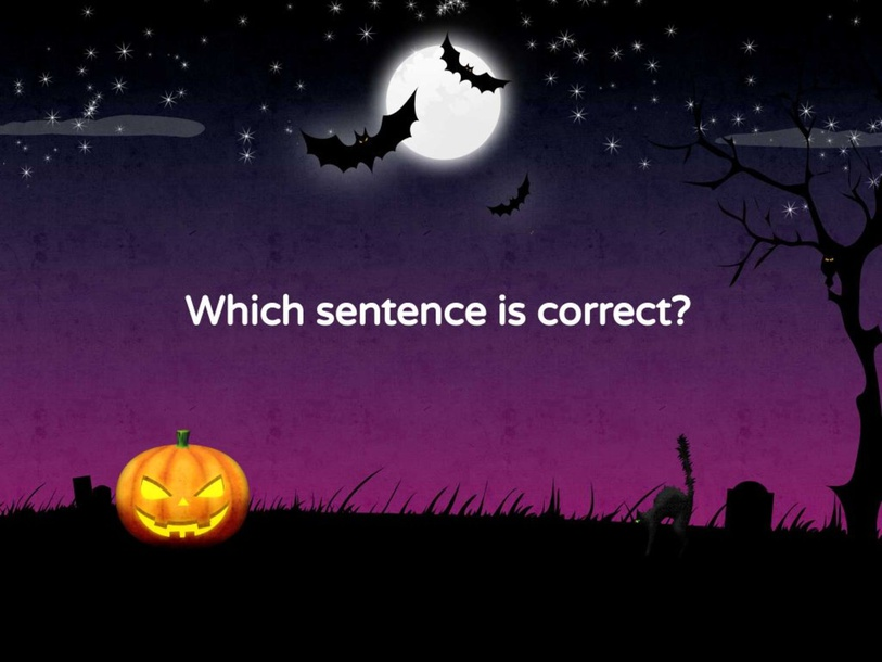Possessive Nouns Halloween by Hannah Raines