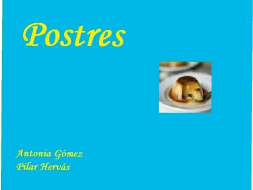 Postres by pilitoninas primitivas