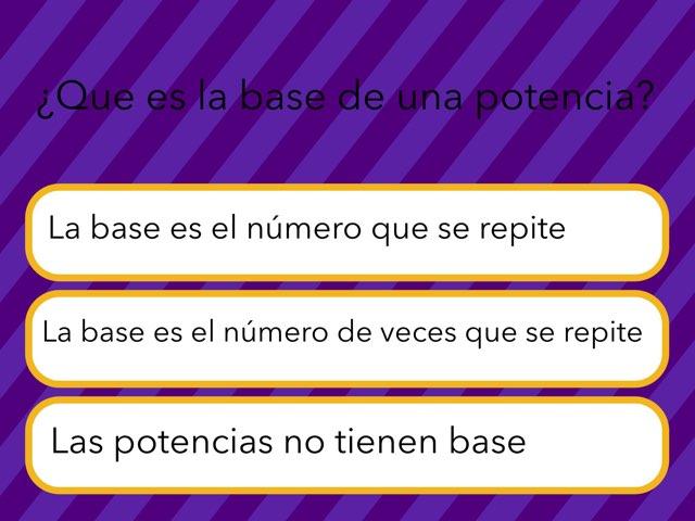 Potencias by Ipad Numero 3