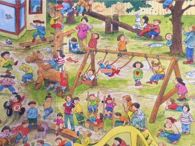 Praatplaat De schoolreis, naar de speeltuin by Ilse Brendel