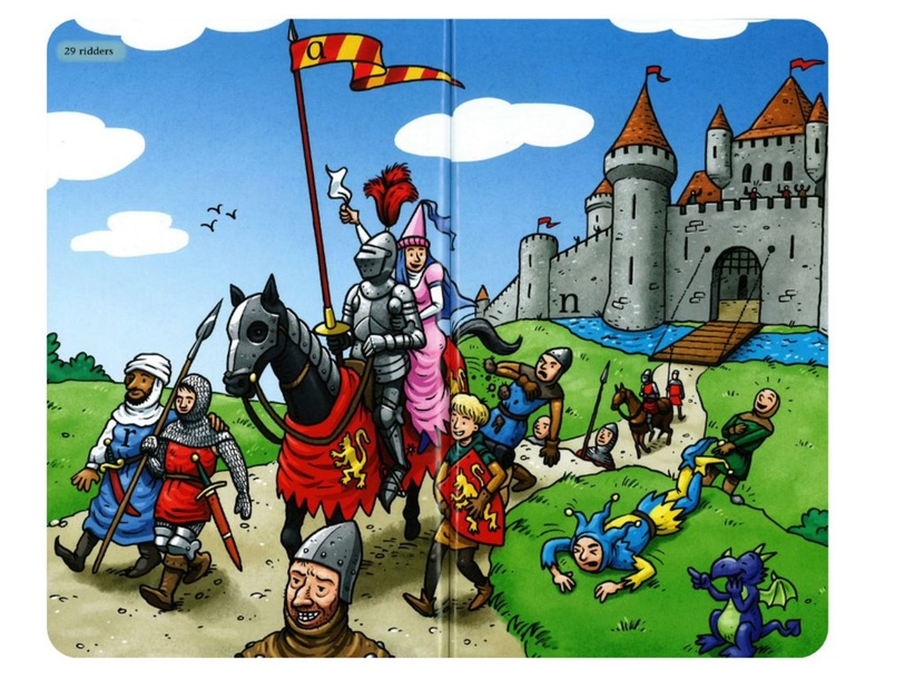 Praatplaat ridders by Maud Van Der Heijden