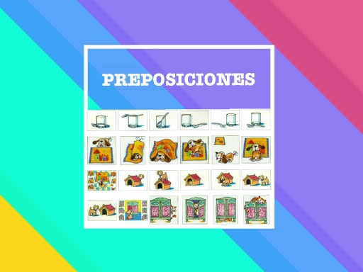 Preposiciones by Daniela Berndt Ponce