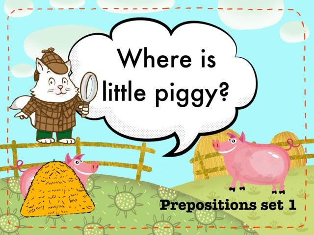 Preposition Game by Xueni Liang
