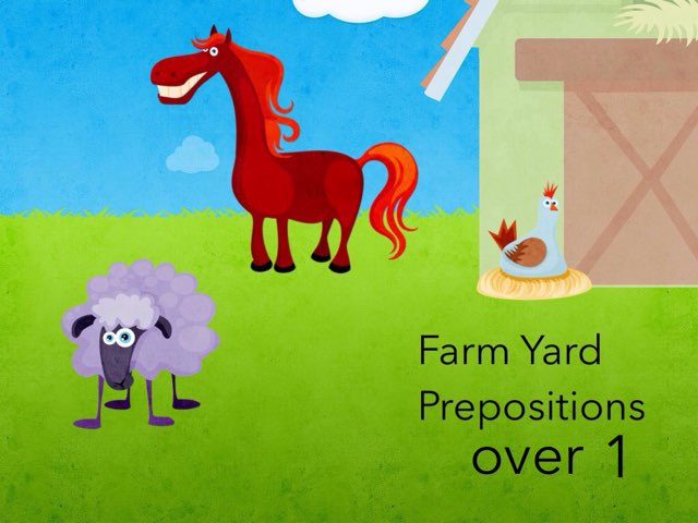 """Preposition """"over"""" Basic by Leslee DuPertuis"""