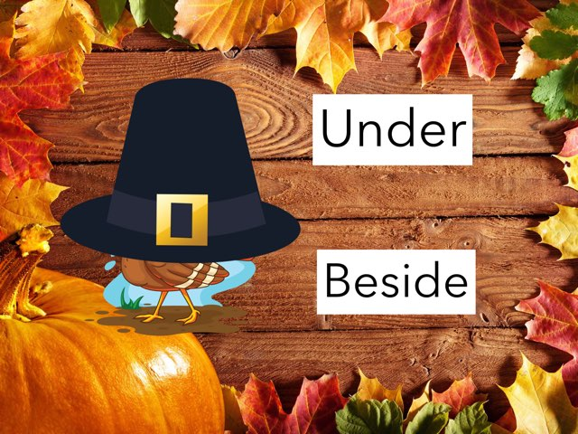 Prepositions Thanksgiving by Julie vest