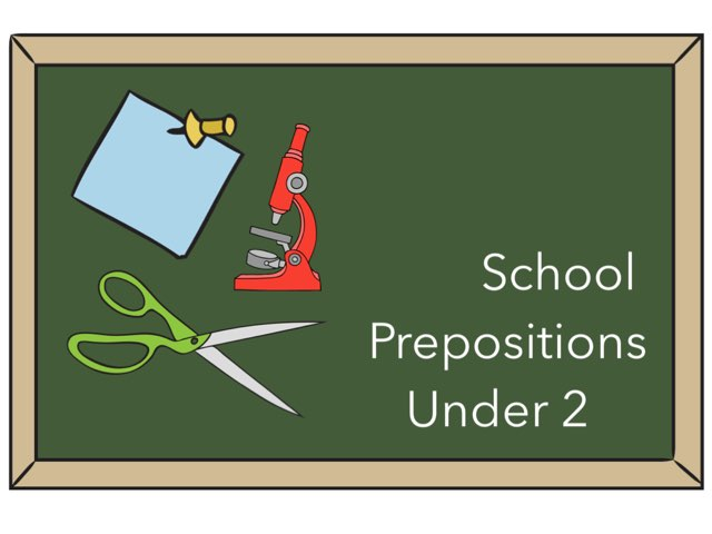 Prepositions Under 2 by Leslee DuPertuis