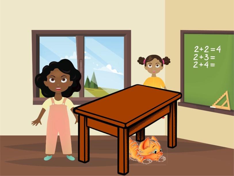 Prepositions: Under, Beside, Behind by Nurture Learning & Development