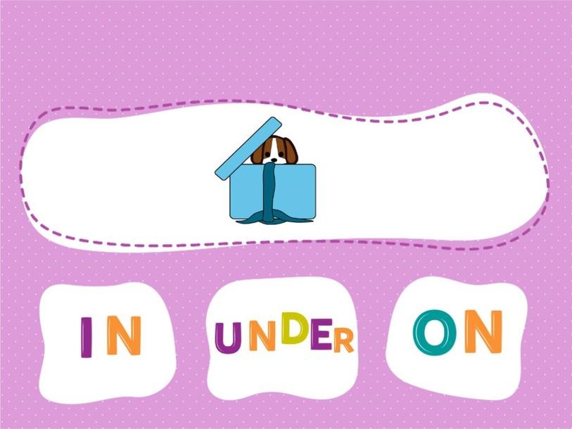 Prepositions in on under by Svetlana Murdoch
