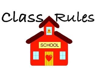Preschool Class Rules by Curtis Crockett