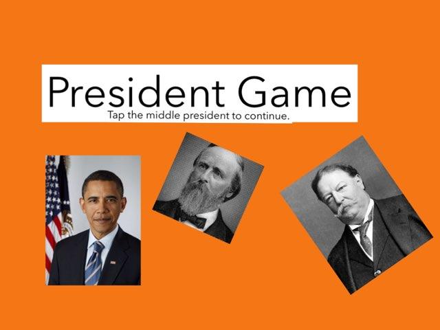 President Game by Jaice Thurber