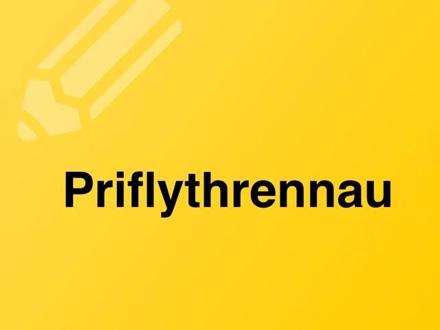 Priflythrennau by Heledd Hurd