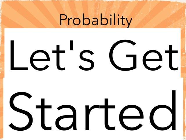 Probability  by 23sar Sri