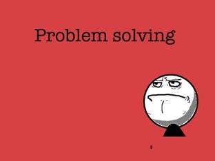 Problem Solving by Jesús Gomez