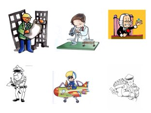 Profesiones  by Curso CFTIC
