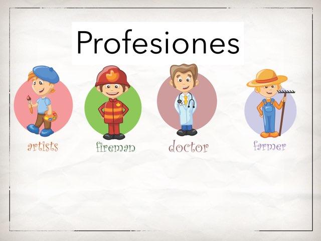 Profesiones by Arturo Fernando Gutiérrez Ulloa