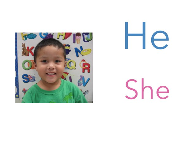 Pronouns: He Or She  by Esme Sifuentes