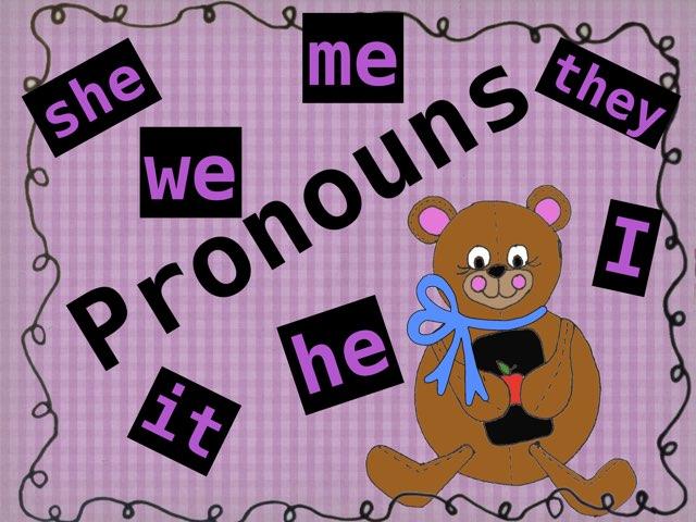 Pronouns by Jennifer