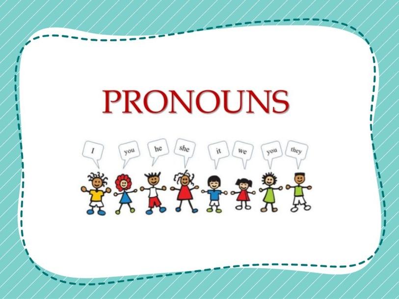 Pronouns by muna obeid
